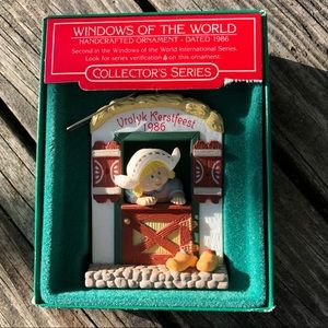 Windows of the World Holland Ornament-Hallmark